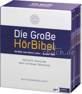 Die große Hörbibel - die Lutherbibel (MP3-Hörbuch)