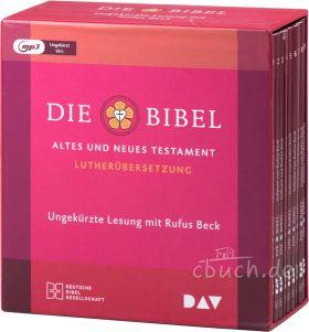 Die Bibel - Altes und Neues Testament - Lutherübersetzung 2017 (MP3-Hörbuch)