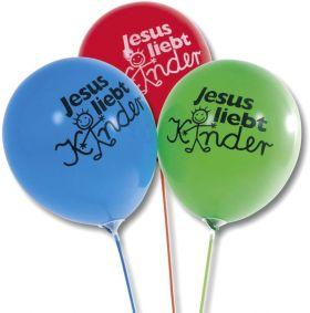 Luftballon-Set - Jesus liebt Kinder