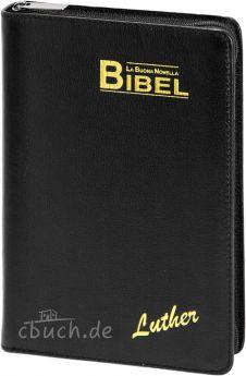 La Buona Novella Bibel - NeueLuther - Standardausgabe Schwarz