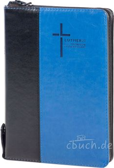 Luther21 - F.C. Thompson Studienausgabe - Standard - Kunstleder Schwarz/Blau