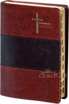 Luther21 - F.C. Thompson Studienausgabe - Standard - Kunstleder braun zweifarbig