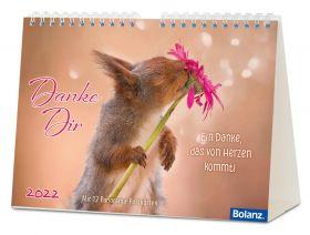 Danke Dir 2022 - Panorama-Postkartenkalender