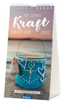Mit Seiner Kraft 2022 - Postkartenkalender