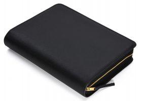 Bibelhülle für MacArthur Studienbibel (schwarz-matt)