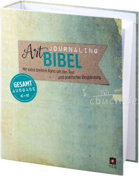 NLB Art Journaling Bibel - Gesamtausgabe im Ringbuch
