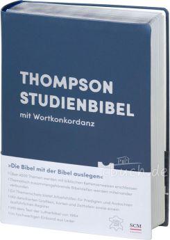 Thompson Studienbibel - Leder Goldschnitt