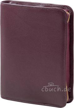 Bibelhülle (weinrot) für Schlachter Taschenausgabe