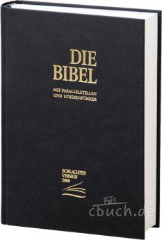 Schlachter 2000 Bibel - Standard schwarz