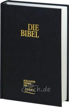 Bibel Schlachter 2000 Taschenausgabe schwarz