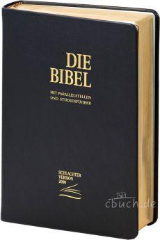 Schlachter 2000 Standard Kalbsleder-Ausgabe schwarz (flexibel)