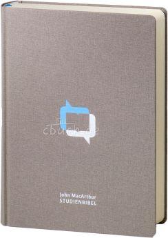 MacArthur Studienbibel - Schlachter 2000 - Leinen