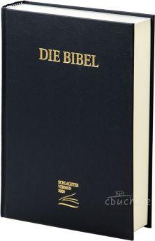 Schlachter 2000 Bibel - Schreibrandausgabe