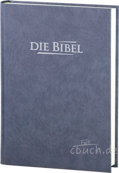 Elberfelder Bibel Edition CSV - Standardausgabe, Baladek, grau-blau
