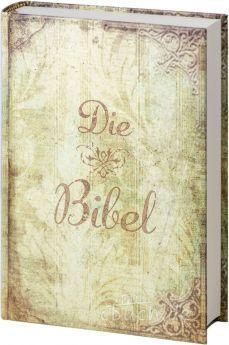 Elberfelder Bibel Edition CSV - Taschenbibel, größere Ausgabe, Motiv Vintage