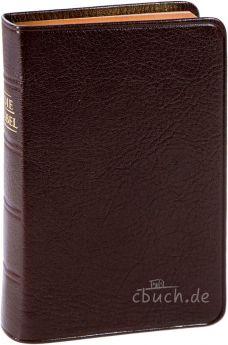 Elberfelder Bibel CSV - Pocket Ziegenleder Rotgoldschnitt