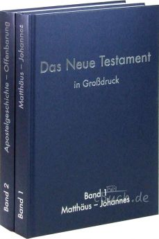 Elberfelder Bibel Edition CSV - Neues Testament in Großdruck (2 Bände)