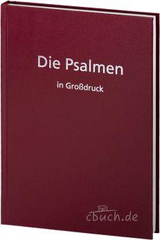 Die Psalmen in Großdruck - Elberfelder Übersetzung CSV
