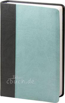 Elberfelder Bibel Edition CSV - Standardbibel, Kunstleder, anthrazit / mint