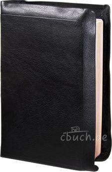 Elberfelder Bibel Edition CSV - Standardbibel, Leder, schwarz, mit Notizseiten