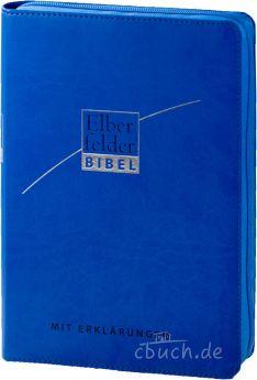 Revidierte Elberfelder Bibel mit Erklärungen - Kunstleder, mit Reißverschluss