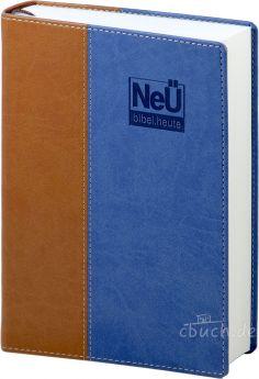 NeÜ Bibel.heute - Standardausgabe braun/blau