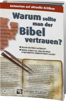 Warum sollte man der Bibel vertrauen? - Leporello 3