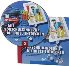 Mit Vorschulkindern die Bibel entdecken, Band 2 (CD-ROM)