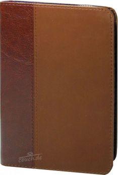 Elberfelder Bibel Edition CSV - Pocket Braun Goldschnitt mit Reißverschluss