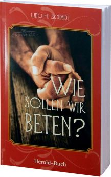 Schmidt: Wie sollen wir beten?