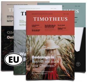 Timotheus Magazin – Jahresabo Europa
