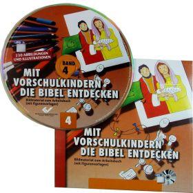 Mit Vorschulkindern die Bibel entdecken, Band 4 (CD-ROM)