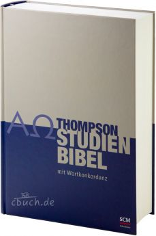 Thompson Studienbibel Hardcover mit Wortkonkordanz