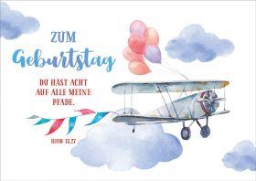 Doppelkarte Doppeldecker - Zum Geburtstag - Bolanz Verlag