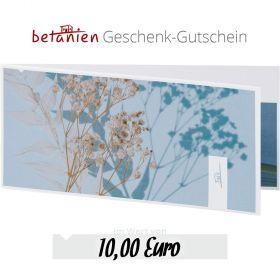 Betanien Geschenk-Gutschein im Wert von 10 Euro (Karte)