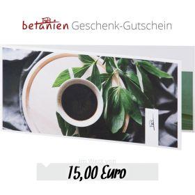 Betanien Geschenk-Gutschein im Wert von 15 Euro (Karte)