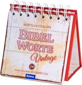 Bibelworte Vintage - Aufstellbuch