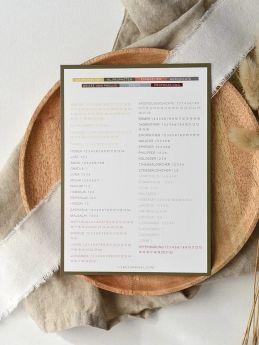 Bücher der Bibel  2.0 - Bibelleseplan - LIEBEZURBIBEL