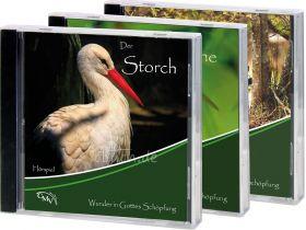 """CD-Set """"Der Storch"""" + """"Die Biene"""" + """"Der Biber"""" 1"""