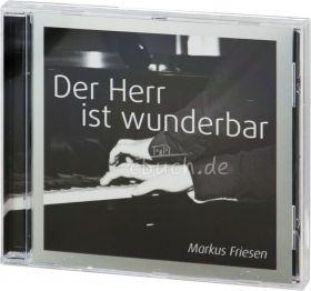 Der Herr ist wunderbar (Audio-CD) - Instrumentalmusik am Flügel
