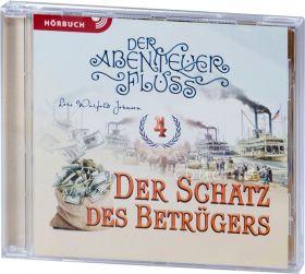 Johnson: Der Schatz des Betrügers (MP3-Hörbuch) - Der Abenteuer-Fluss Band 4