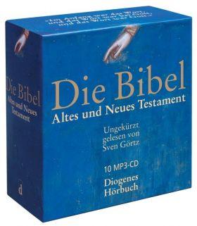 Die Bibel - Hörbibel (Alte Elberfelder) - MP3-Hörbibel  Box mit 10 CDs im MP3-Format, Diogenes
