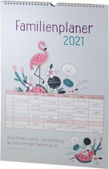 Familienplaner 2021 - 6 Spalten