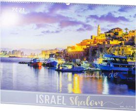 Israel Shalom 2021 - Wandkalender