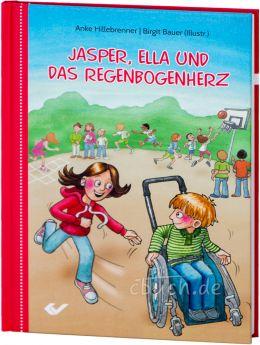 Hillebrenner: Jasper, Ella und das Regenbogenherz