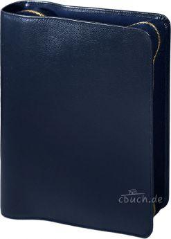 Bibelhülle für MacArthur Studienbibel (dunkelblau)