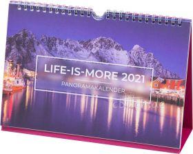Verteilkalender: Life-is-More Panoramakalender 2021