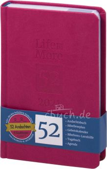 Life-is-More 52 - Andachtsbuch 2021