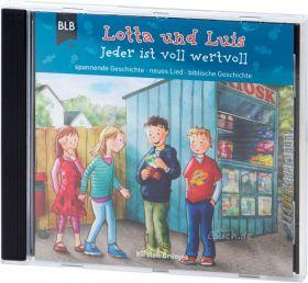 Kirsten Brünjes: Lotta und Luis - Jeder ist wertvoll (Audio-Hörspiel). Spannende Geschichte - neues Lied