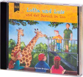 Kirsten Brünjes: Lotta und Luis und der Besuch im Zoo(Audio-Hörspiel) - Ein giraffenstarkes Abenteuer im Zoo mit Lotta und Luis